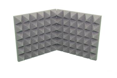 Acoustic Pyramid Soundproofing Foam Wall Tile 2x12x12