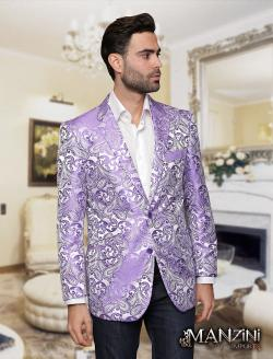 Men's manzini Lavender sport coat