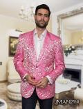 Men's manzini Lavender sport coat