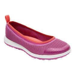 Women's Rockport Walk360 Washable Ballet Radiant Orchid Mesh