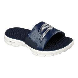 on sale online best best site Men's Skechers GOwalk 3 Drift Slide Sandal Navy | Overstock.com Shopping -  The Best Deals on Sandals