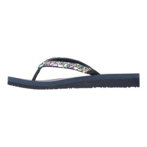 c6124f96ac6cbf ... Thumbnail Women  x27 s Skechers Meditation Break Water Thong Sandal Navy  Multi