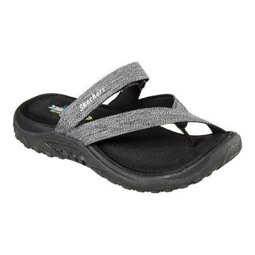 325a8e60ba86 Shop Women s Skechers Reggae Rasta Vibes Thong Sandal Black - Free Shipping  On Orders Over  45 - Overstock - 11553547