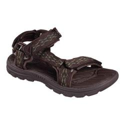 Men's Skechers Relaxed Fit Bravelen Drito Sandal Dark Brown