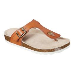 Women's Skechers Relaxed Fit Crunchy Nature Thong Sandal Brown