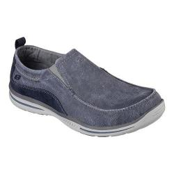 Men's Skechers Relaxed Fit Elected Drigo Loafer Navy