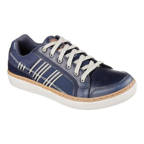 Men's Skechers Relaxed Fit Palen Senden Sneaker Navy