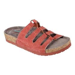 Women's Skechers Relaxed Fit Granola Wrap It Up Slide Sandal Rust
