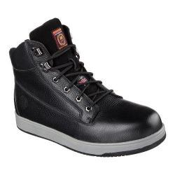 Men's Skechers Work Relaxed Fit Ossun Sebree Steel Toe Boot Black