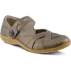 Women's Spring Step Hearts Mary Jane Bronze Leather