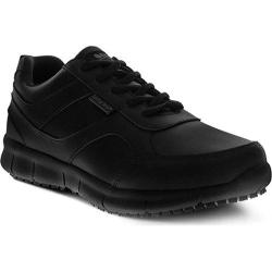 Men's Spring Step Ramon Lace Up Shoe Black Leather (2 options available)
