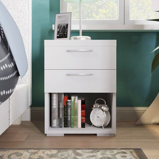 Aria 2-drawer Wooden Nightstand