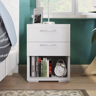 Kern Wellesley 2-drawer Wooden Nightstand