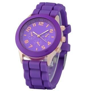 Zodaca Purple Analog Quartz Silicone Jelly Sports Watch https://ak1.ostkcdn.com/images/products/10001064/P17150179.jpg?impolicy=medium