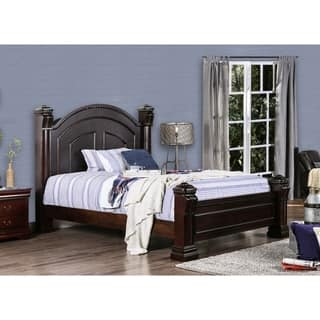 Furniture Of America Tasine Cherry Four Poster Bed