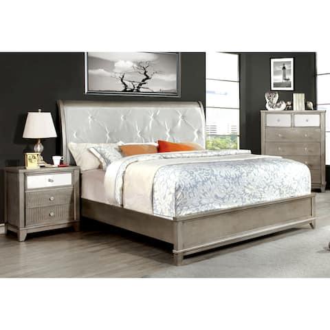Grey, Glass Bedroom Furniture | Find Great Furniture Deals ...