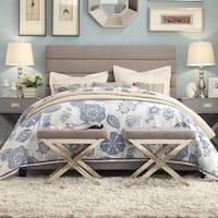 Corbett Horizontal Tuft Linen Upholstered Bed by iNSPIRE Q Classic