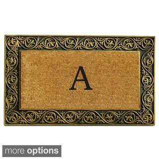 Prestige Gold Monogram Doormat