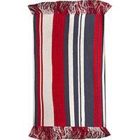 Stripes Red Rug  (2' X 3')