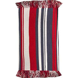 Stripes Red Rug  (4' X 6')