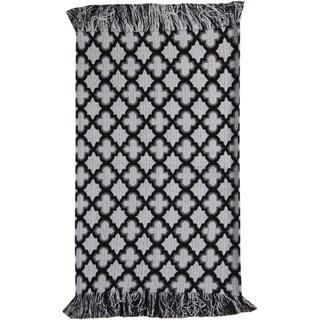 Moroccan Black Rug (2' X 3')