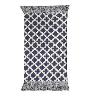Moroccan Blue Rug  (2' X 3')