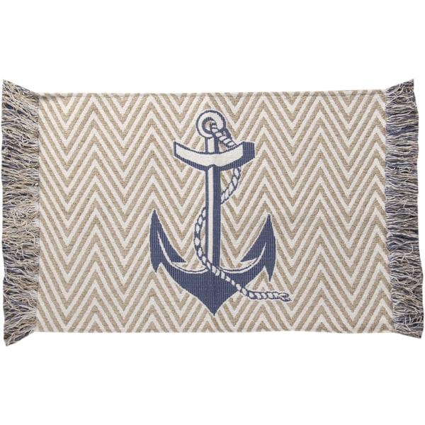 Nautical Blue Rug: Shop Nautical Blue Rug (4' X 6')