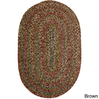 Rhody Rug Katie Indoor/ Outdoor Reversible Braided Rug (2' x 3') - 2' x 3' (More options available)