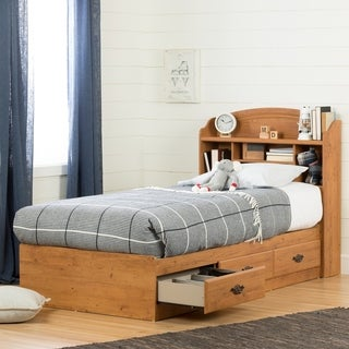 South Shore Prairie Twin Bookcase Headboard