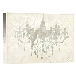 Big Canvas Co. Remy Dellal 'Chandelier' Stretched Canvas Artwork