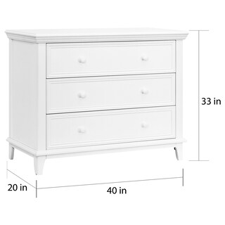 Kolcraft 3-drawer Transitional Dresser (3 options available)