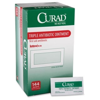 Medline Curad Triple Antibiotic Ointment Packets