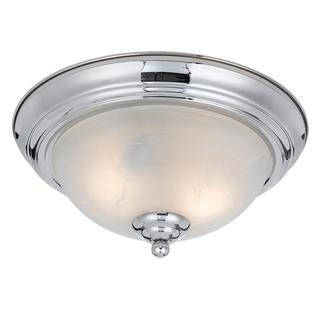 Lumenno Transitional 2-light Chrome Plated Flush Mount