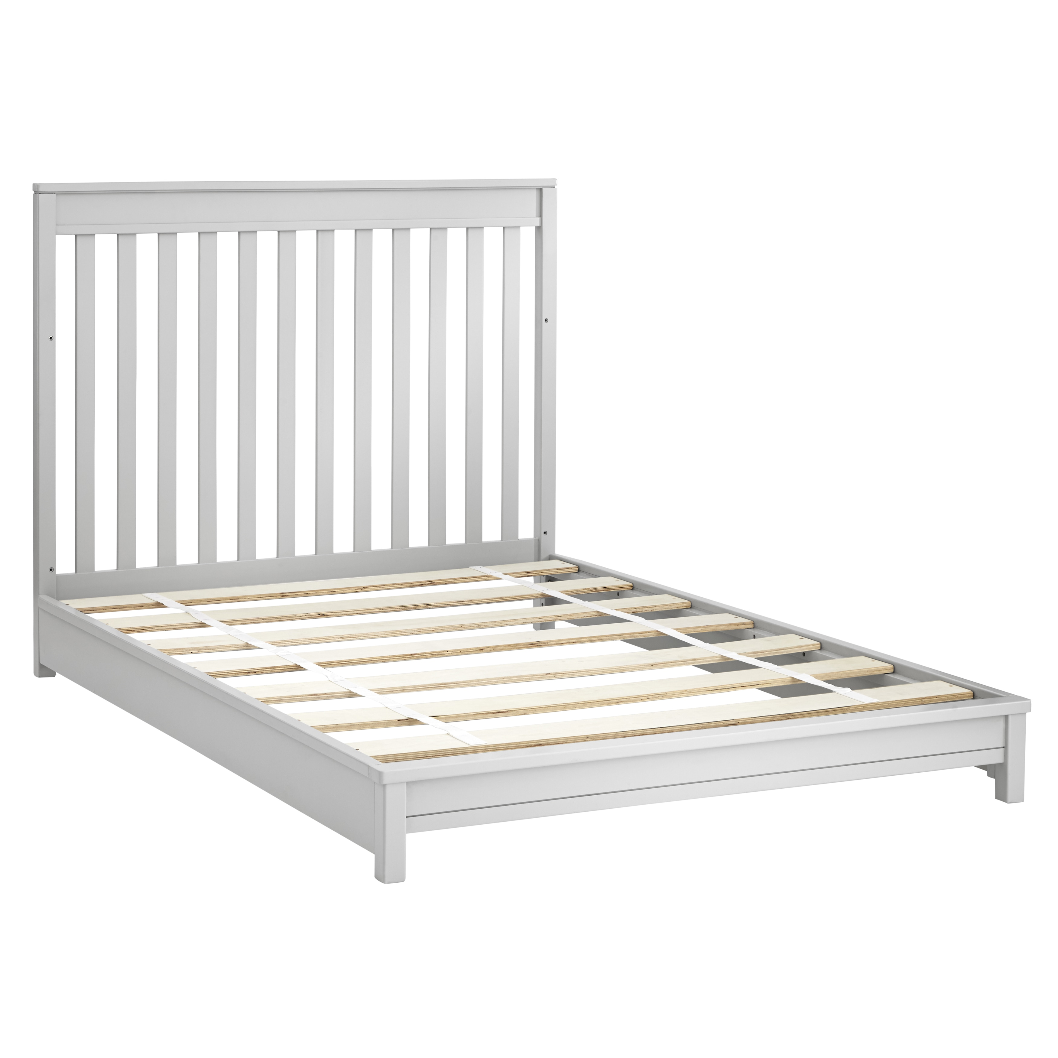 Sealy Bella Convertible Full Size Bed Rails and Slat Roll...