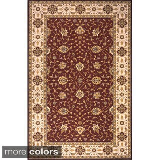 Momeni Persian Garden Burgundy NZ Wool Rug (2' x 3')