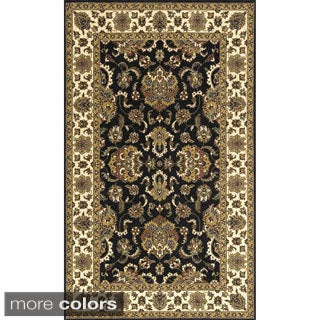Momeni Persian Garden Charcoal NZ Wool Rug (2' X 3')