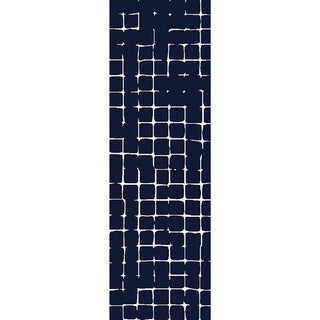 Hand-Tufted Amelie Geometric Wool Area Rug