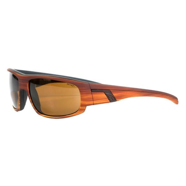 75ef0a6be1 Smith Men  x27 s Woodgrain Terrace Sunglasses with Polarized Brown Lenses