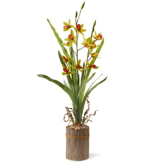 Green 30-inch Potted Flower