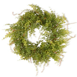 Link to Green 22-inch Hotag/ Berry Wreath Similar Items in Decorative Accessories