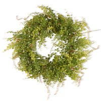 Green 22-inch Hotag/ Berry Wreath