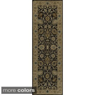 "Zeeba Hand-tufted Wool Rug (2'6"" x 8')"
