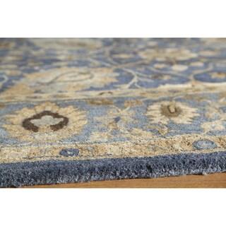 "Zeeba Hand-tufted Wool Rug (5'6"" x 8'6"")"