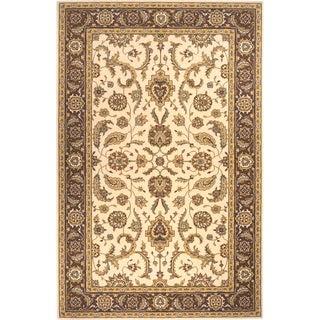 Momeni Persian Garden Cocoa NZ Wool Rug (5' X 8') - 5' x 8'