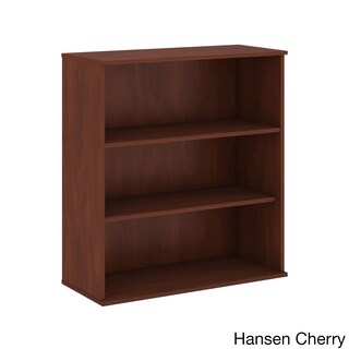 48H 3 Shelf Bookcase (Option: Hansen Cherry)