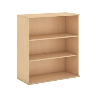 BBF Collection 48-inch 3-shelf Wide Wooden Bookcase