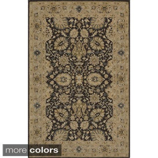 "Zeeba Hand-tufted Wool Rug (7'6"" x 9'6"")"
