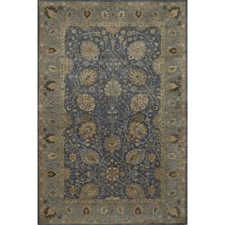 "Zeeba Hand-tufted Wool Rug (7'6"" x 9'6"")"