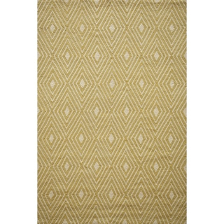 Momeni Veranda Yellow Diamonds Indoor/Outdoor Rug - 8' x 10'
