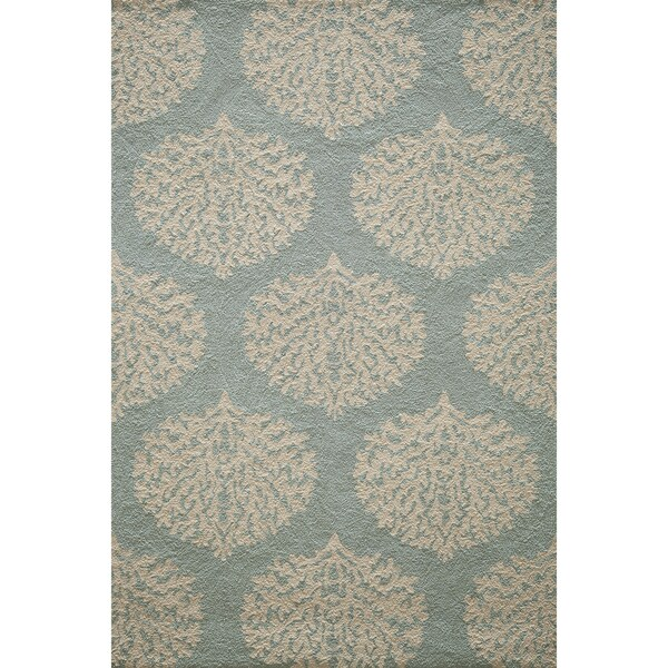 Coral And Turquoise Outdoor Rug: Shop Momeni Veranda Aqua Coral Reef Indoor/Outdoor Rug (8
